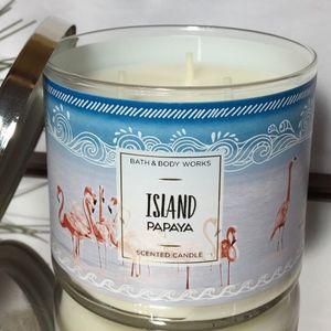 ISLAND PAPAYA 3 Wick Candle